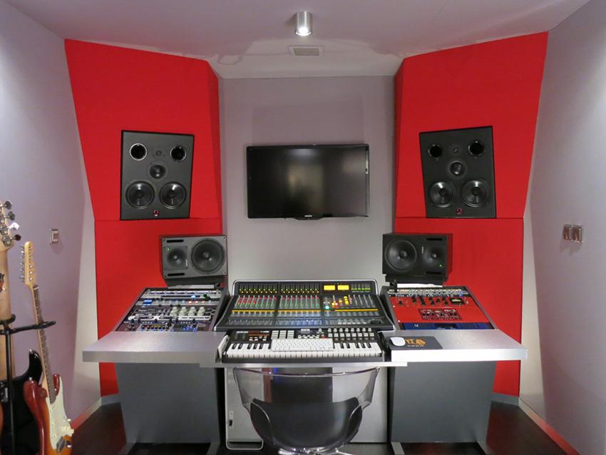 Régie-de-mixage-studio-d'enregistement,-Paris